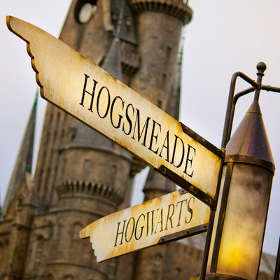 Wizarding World of Harry Potter Sign